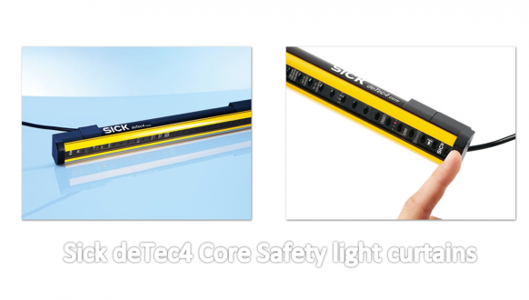 Sick Light Curtain Configuration Software: Sick DeTec4 Core Safety Light Curtains