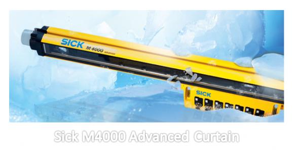Sick Light Curtain Alignment Tool: Sick M4000 Advanced Curtain
