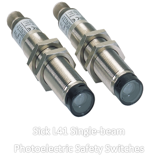 SIck L41 Single-beam Photoelectric Safety Switches