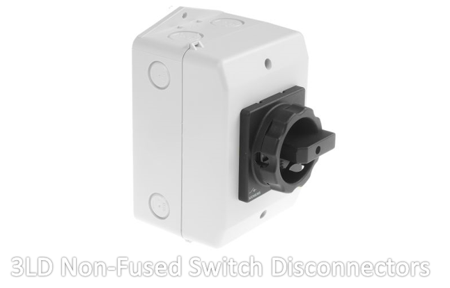 3LD Non-Fused Switch Disconnectors