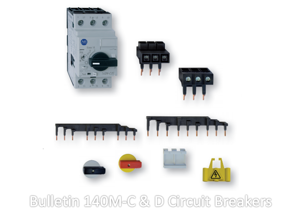 Bulletin 140M-C & D Circuit Breakers