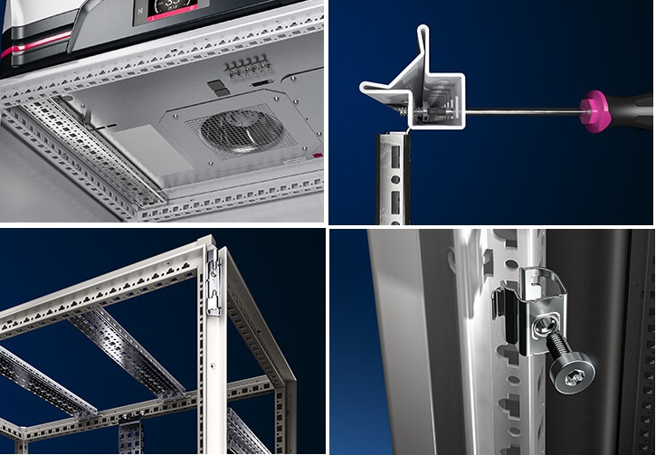 Rittal VX Enclosure System Benefits