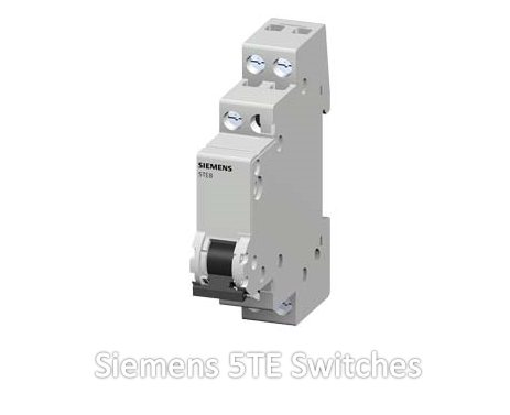 Siemens 5TE Switches