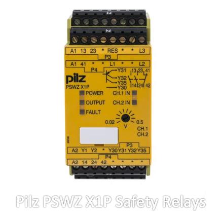 Pilz PSWZ X1P Safety Relays