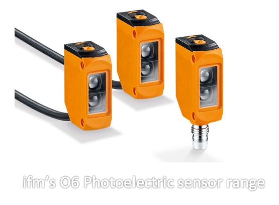 ifm's O6 Photoelectric sensor range