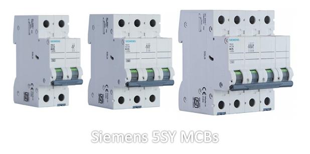 Siemens 5SY MCBs