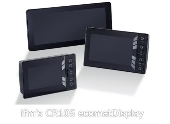 ifm's CR105 ecomatDisplay