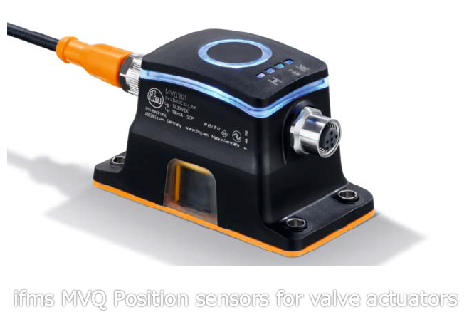 ifms MVQ Position sensors for valve actuators